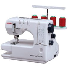 Janome 1000CPX Coverpro Best coverstitch machine review